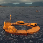 Wave energy converter successfully tested for powering oceanographic instrumentation