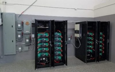 Energport begins installation of a large battery energy storage system
