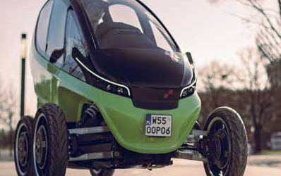 Triggo reveals micro-electric car for global launch across major cities in 2021