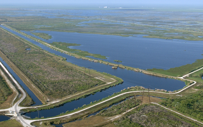 Site work begins on Everglades Agricultural Area Storage Reservoir Project with Brown and Caldwell providing engineering