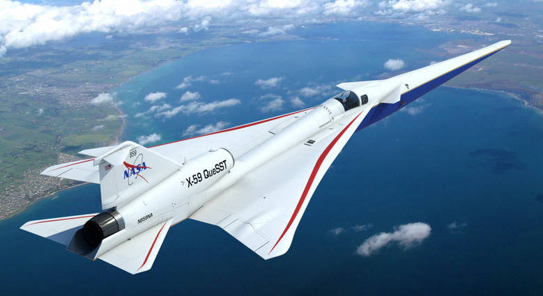 HMMH receives NASA X-59 Quiet Supersonic Flight Community Testing contract